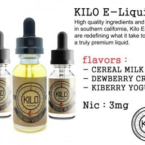 tinh dầu thuốc lá điện tử Kilo Dewberry Cream e liquid