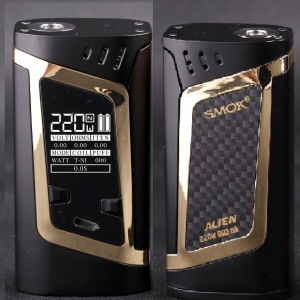 Smok Alien 220w gold Box Mod