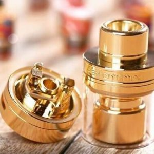 serpent mini rta wotofo gold tank