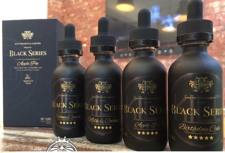 Kilo Black Series vape juice
