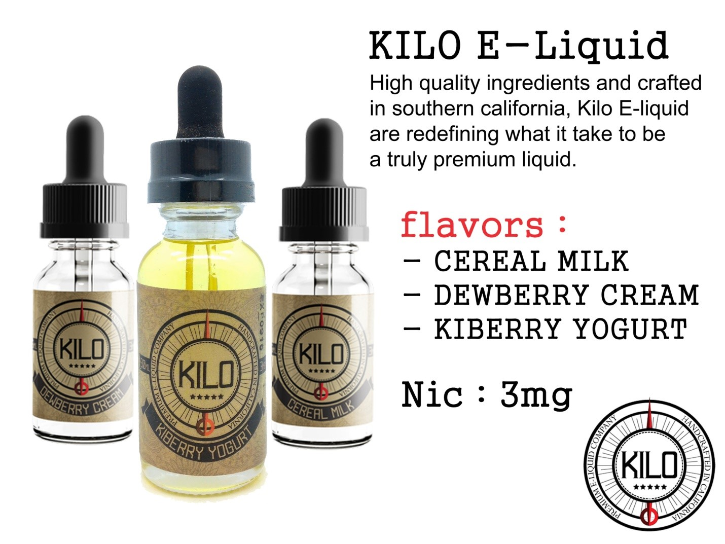 tinh dầu vape Kilo Kiberry Yogurt e liquid