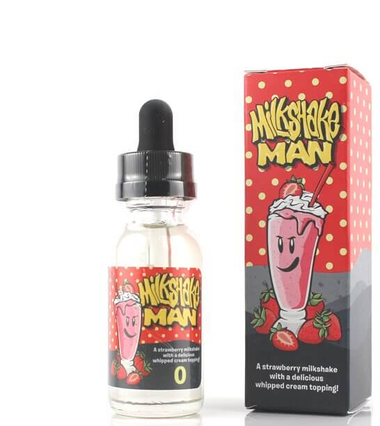 MILKSHAKE MAN STRAWBERRY juice vape