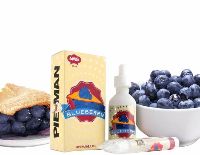 PIE MAN BLUEBERRY PIE 60ml vape juice