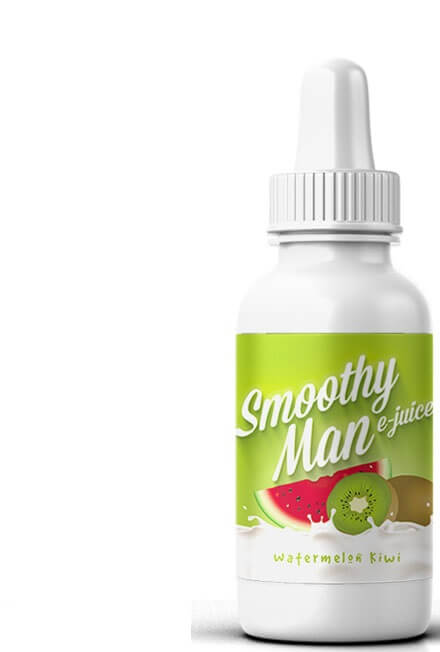 SMOOTHY MAN E-JUICE WATERMELON KIWI 30ML