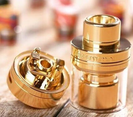 serpent mini rta wotofo gold tank