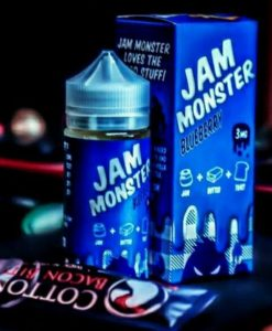 juice jam monster việt quất