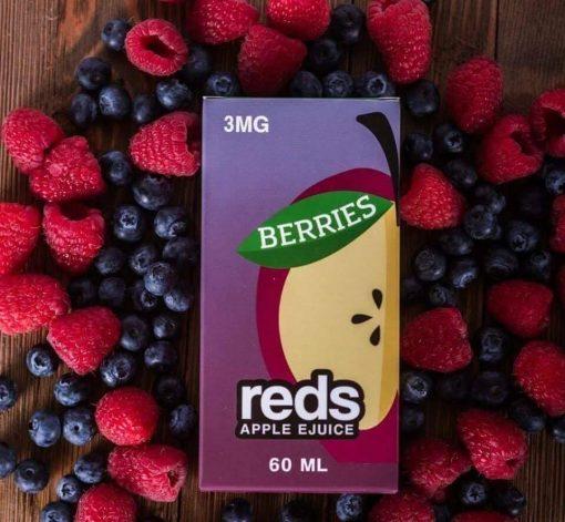 reds apple berries