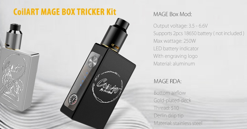 CoilART Mage 250W
