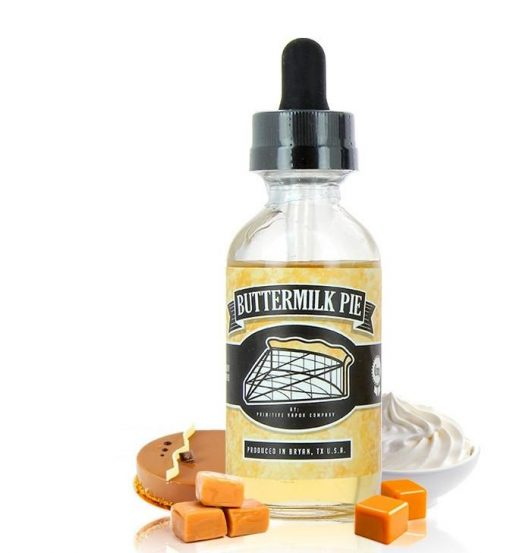 Primitive Vapor Co Buttermilk Pie