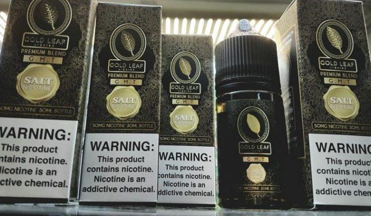 tinh dầu gold leaf muối